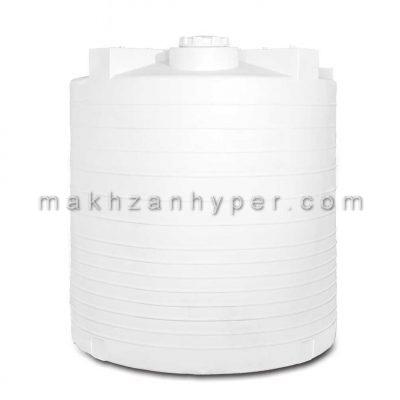 مخزن عمودی پلی اتیلن سه لایه 15000 لیتری