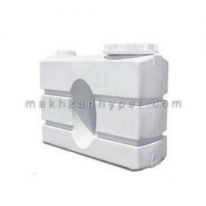 منبع آب کتابی 500 لیتری پلی اتیلن 3 لایه