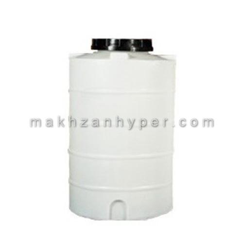 تانکر پلاستیکی عمودی کوتاه تک لایه 400 لیتری