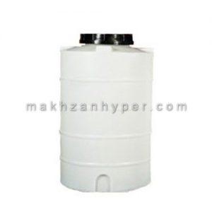 تانکر پلاستیکی عمودی کوتاه سه لایه 1000 لیتری