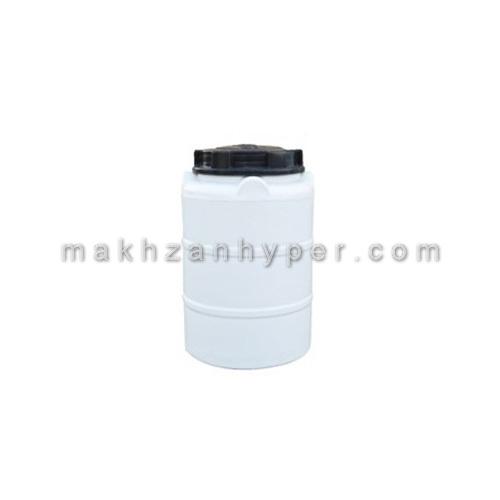 مخزن عمودی پلی اتیلن تک لایه 200 لیتری